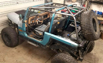 Roll Cage Modification