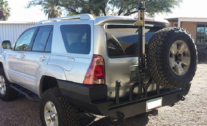 Toyota Rear Spare Tire Carrier / Bumper