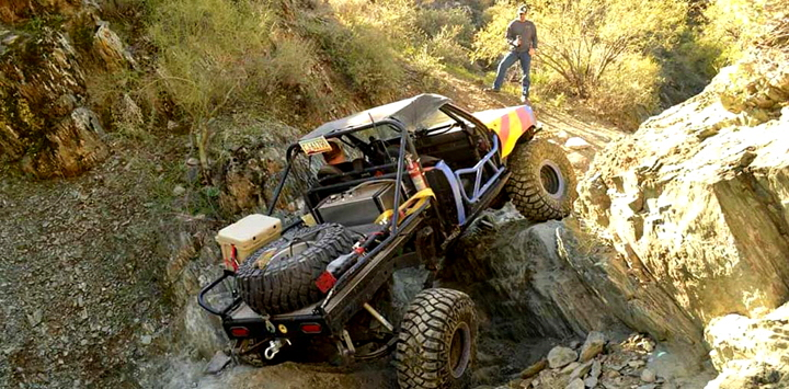 Truggy Up Waterfall / Boat Sides