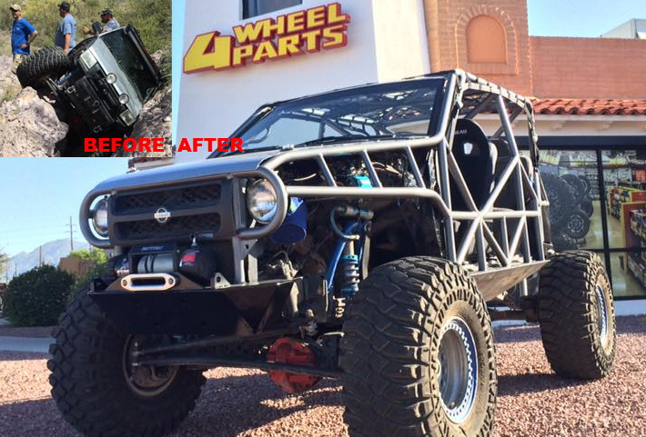 Rockterra Exterra Rock Crawler Buggy Off Road and Highway.