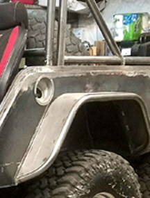 Tube Fenders and Jeep Body Armor.