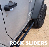 Custom Jeep Rock Sliders.