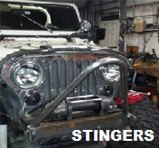 Custom Jeep Stinger.