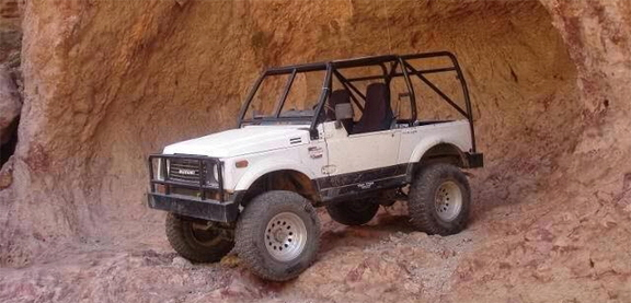 Samurai Rock Crawler Roll Cage.